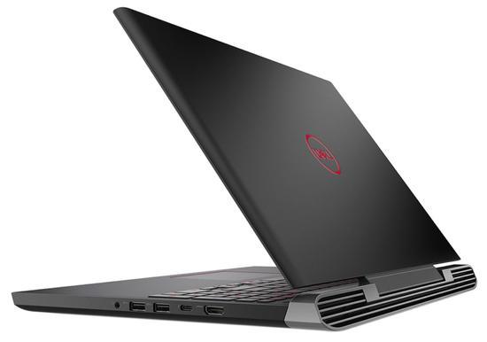 """Notebook Dell I7577-7722BLK i7 2.8GHZ/ 16GB/ 1TB+128SSD/ GTX1060 6GB/ 15.6"""" FHD/ W10"""