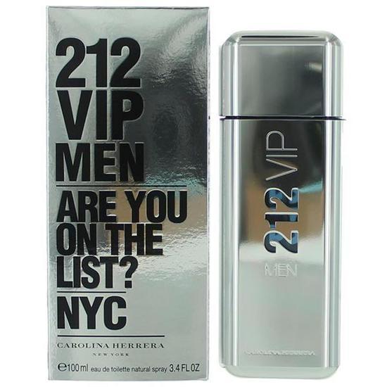 Perfume Carolina Herrera 212 Vip Men Eau de Toilette Masculino 100 ... 5dfaee7fa7