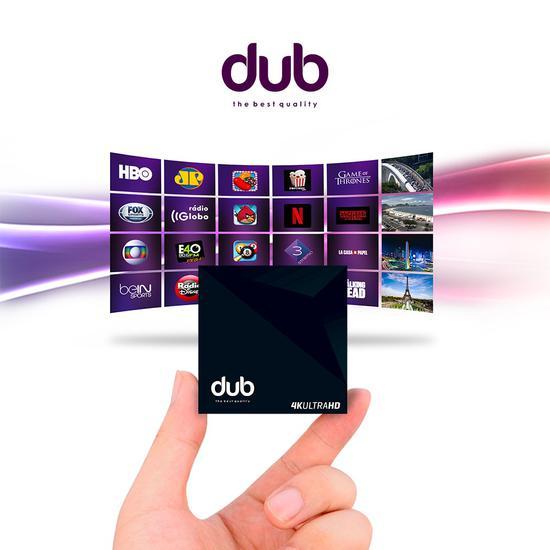 Receptor Dub 4K Ultra HD Iptv na loja Best Quality no Paraguai