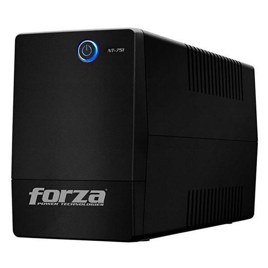 Nobreak Forza NT-751 750VA de 375W com Protecao Nivel 5 de 25 Minutos 110V - Preto