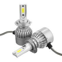 Lampada de LED para Carro Ultra LED Headlight C6 H3 36W/6000K/3800L s/Garantia