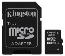 Memoria Micro SD Kingston 8GB 2X1