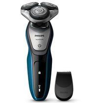 Barbeador Philips Aquatouch S5420/04 3 Cabecas Recarregavel 100-240V  Azul/Cinza