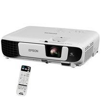 Projetor Epson Powerlite X41+ de 3.600 Lumens Wi-Fi/HDMI Bivolt + Bolsa - Branco