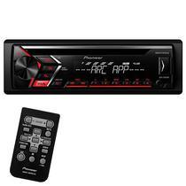 Reprodutor de CD Automotivo Pioneer DEH-S1050UB com USB/Auxiliar - Preto