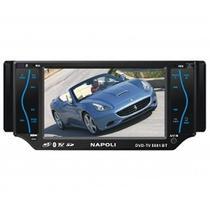 "Reproductores de DVD Napoli DVD-TV5081 Bluetooth/ DVD/ MP4/ USB/ 5.8"""