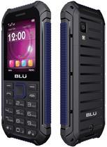 "Celular Blu Xtreme Tank T450 Dual Sim 2.4"" Bluetooth Radio FM Preto/Azul"