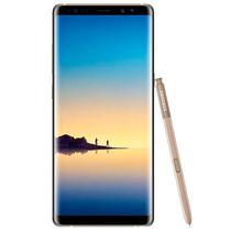"Smartphone Samsung Galaxy NOTE8 SM-N950F/DS Dual Sim 64GB 6.3"" 12MP/8MP Os 7.1.1 - Dourado"