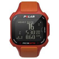 Relogio GPS Polar RC3 - Vermelho/Laranja