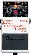Pedal Boss TU3 Guitar Tuner Chromatic