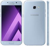 "Smartphone Samsung Galaxy A7 SM-A720F 32GB Lte Dual Sim Tela 5.7""FHD Cam.16MP+16MP-Azul"