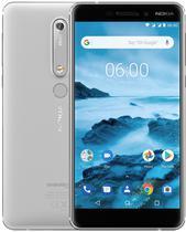 "Smartphone Nokia 6.1 TA-1045 Dual Sim Lte Tela 5.5"" FHD Branco"