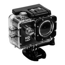 """Camera Esportiva Quanta QTSC501I Full HD de 12MP Tela 2"""" com Wi Fi - Preto"""
