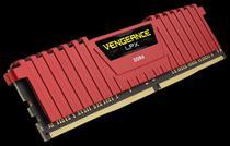 Corsair Vengenace LPX DDR4 8GB 1X288 DIMM CMK8GX4M1A2400C14R Red
