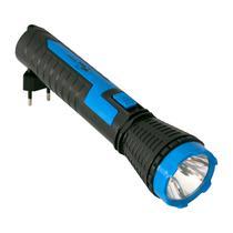 Lanterna Ecopower EP-8331 - Recarregavel - Bivolt - Preto e Azul