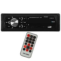 Toca Radio Automotivo X-Tech XT-RD1012 com Bluetooth/USB/FM - Preto