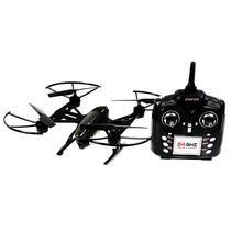 Drone FQ777 ML2123 FPV Via Wi-Fi 2.4GHZ 4 Canais/6 Eixos com Camera - Preto