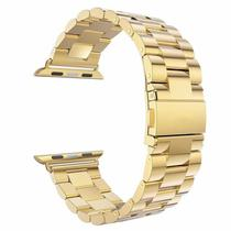 Pulseira 4LIFE de Aco Inoxidavel para Apple Watch - 38MM - Gold
