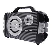 Caixa de Som Megastar HYK50BTN Bluetooth / USB / Cartao SD + Microfone - Preto