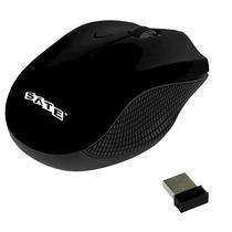 Mouse Optico Wireless Satellite A-69G 1000DPI - Preto