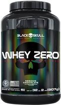 Whey Zero Black Skull Serious Chocolate (Po 2LB.) 907G