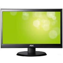 """Monitor LED 20"""" AOC I2080SW Ips VGA/Preto"""