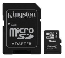 Memoria Micro SD Kingston 16GB 2X1