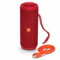 Caixa de Som JBL Flip 4 Bluetooth Vermelho