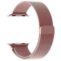 Pulseira 4LIFE Estilo Milanes para Apple Watch 38MM, Magnetico - Rosa