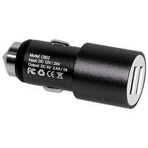 Carregador Veicular USB X-Tech XT-CC23 2 USB - Preto