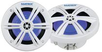 Alto Falante Marine Matrix MRX600W Branco