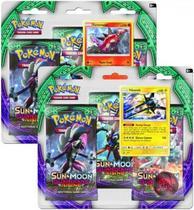Pokemon TCG: Sol e Lua 3 Pack Booster 80216