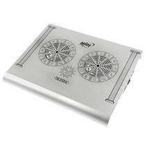 Cooler para Notebook Midi MD-0063Z com 2 Ventiladores - Prata