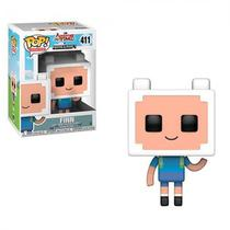 Funko Pop Animation Adventure Time Minecraft - Finn 411