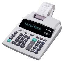 Calculadora c/ Bobina Casio FR-2650T 12 Dig - 24 Linhas/Seg Eletrico 220V Cinza