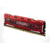 Memória Crucial Ballistix Red DDR4 4GB 2400M BLS4G4D240FSE