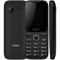"""Celular Haier M220 Dual Sim Tela 1.8"""" Radio FM Bluetooth Camera e Lanterna - Preto"""