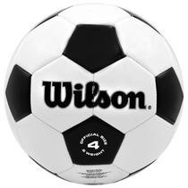 Bola Futebol Wilson Tradicional WTH8754XDEF - No 4 Preto/Branco