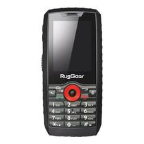 Celular Ruggear RG160 Pro Tela 2.4 DS 3G 512MB/2.5GB Cam 2MP IP68 A4.4 - Preto