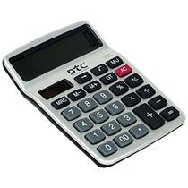 Calculadora DTC DT-1858 com 12 Digitos - Prata/Preto