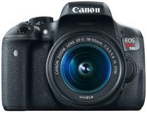 Camera Digital Canon Eos Rebel T6I 18 X 55 24.2MP Fullhd/Wi-Fi/NFC- Preto