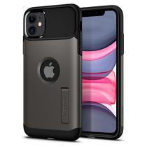 Capinha para iPhone 11 Spigen Slim Armor 076CS27082 - Preto/Gunmetal