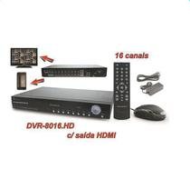 CCTV Gravador de Video Powerpack DVRC-8016.HD