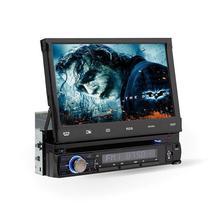 """Reprodutor de DVD Automotivo Roadstar RS-7760BTV Retratil Tela de 7.0"""" Bluetooth/TV/Radio"""