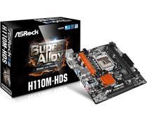 Placa Mãe Asrock LGA1151 H110M-HDS HDMI/Dbi/USB3.0/DDR4
