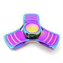 Spinner Anti Stress Metal Pequeno 3 Pontas Chromado