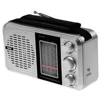 Radio AM/FM BAK BK-811BT com Bluetooth/USB/8 Bandas Selecionaveis 220V - Prata