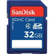 Cartao de Memoria SD-HC Sandisk 32GB SDSDB-032G-B35