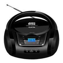 Aparelho de Som Quanta QTRPB431 MP3 Bivolt com Bluetooth + Radio FM - Preto