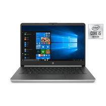 "Notebook HP i5-1035G7 1.0GHZ/ 8GB/ 256GB SSD + 16G Optane/ 14.0"" HD/ Windows 10/ Ingles Prata - 14-DQ1039WM"